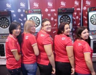 El equipo femenino campeón de España de dardos viajará a Las Vegas