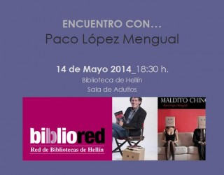 Encuentro con Paco López Mengual