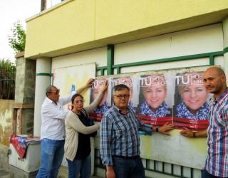 Acto electoral del PSOE en el barrio San Vicente