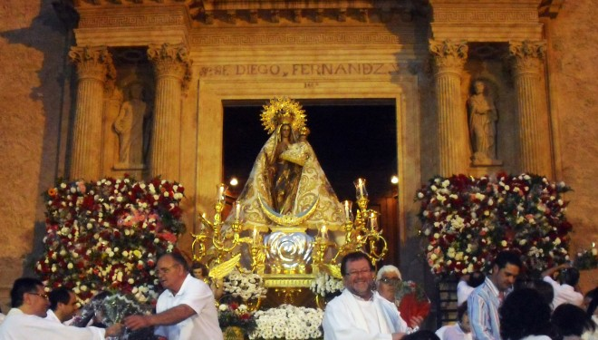 Actos en honor de la Patrona la Virgen del Rosario