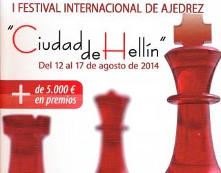 """En marcha el I Festival Internacional de Ajedrez """"Ciudad de Hellín"""""""