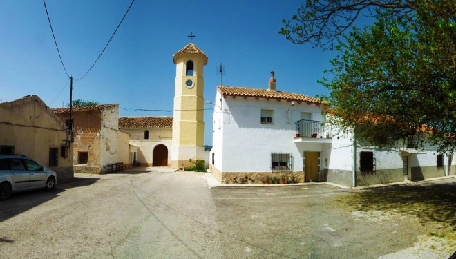 Fiestas en la pedanía de Las Minas