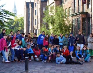 Intercambio del Colegio San Rafael con alumnos belgas