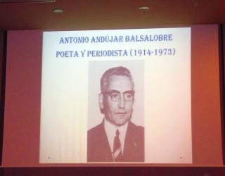 Homenaje a Antonio Andújar Balsalobre