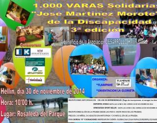 III Edición de las 1000 Varas solidarias «José Martínez Morote» de la Discapacidad»