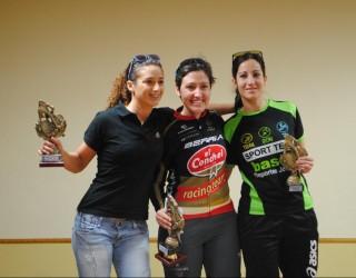 Las hellineras Cecilia García y Yulema Rodríguez suben al podio en Liétor