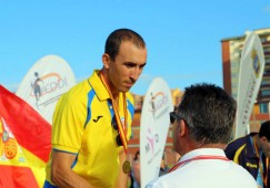 José Martínez Morote rumbo a Huelva para participar en el Campeonato Nacional de Atletismo por clubes