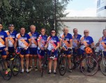 Veteranos componentes del Club Ciclista Hellín