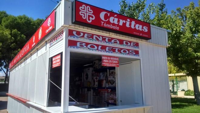La Tómbola de Cáritas pondrá a la venta 50.000 papeletas en la próxima Feria