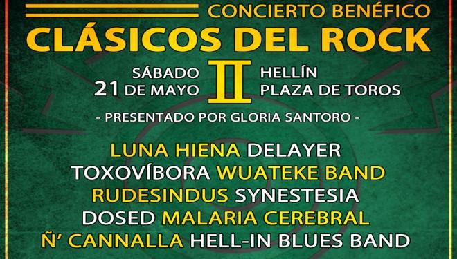Concierto de rock benéfico, organizado por Asherock, este sábado en la Plaza de Toros