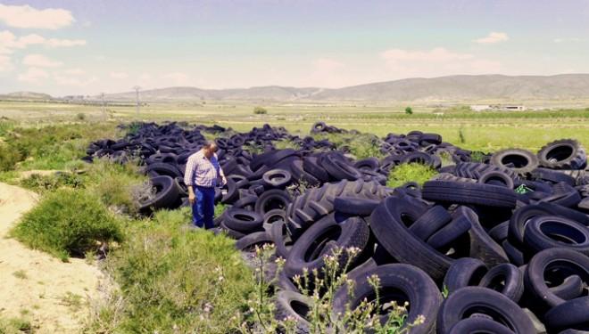 Nueva denuncia del GM del Partido Popular sobre el vertedero de neumáticos junto a Nava de Campaña