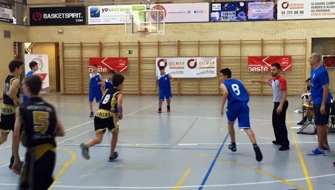 Las categorías inferiores del AD Baloncesto Hellín se lucen en Pozuelo de Alarcón