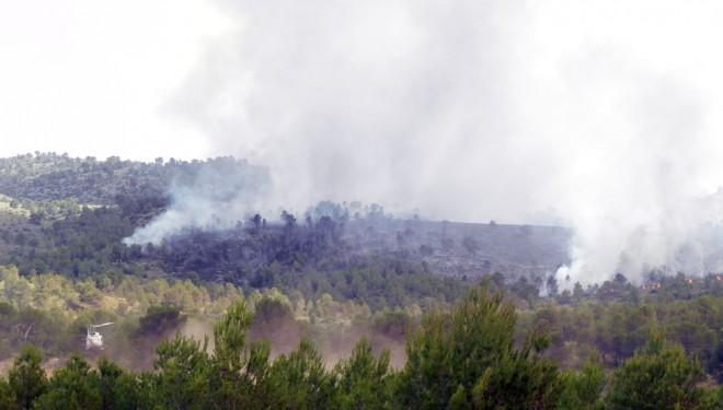 Declarado un incendio forestal en el término municipal de Liétor