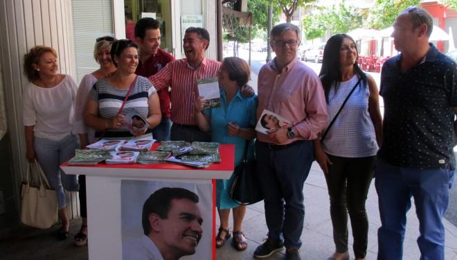 El PSOE recordó el primer aniversario de su subida al poder municipal