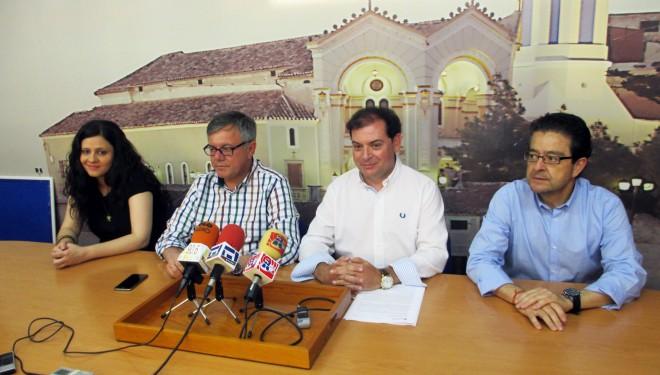 Javier Morcillo presenta el Consejo Sectorial del Turismo en Hellín