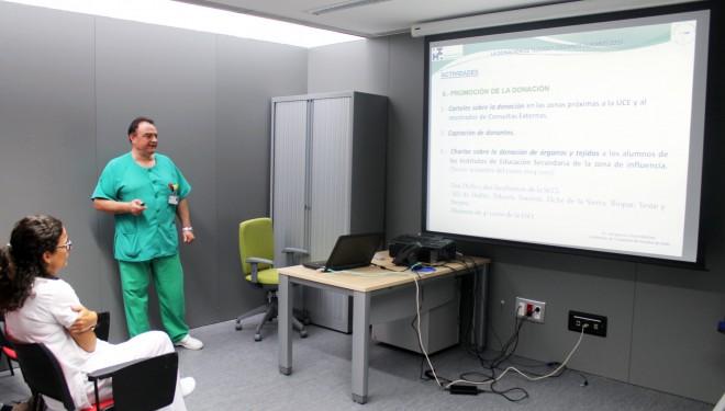 El Hospital de Hellín ha registrado más de medio centenar de donantes de córnea en los últimos cinco años