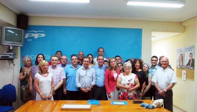 El Partido Popular hellinero viaja hasta Cuenca