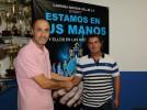 Presentación oficial del nuevo entrenador del Hellín CF, Isaac Jiménez Serrano