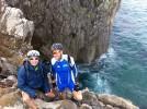Dos hellineros completan en bicicleta los 900 kilómetros del Camino de Santiago Norte