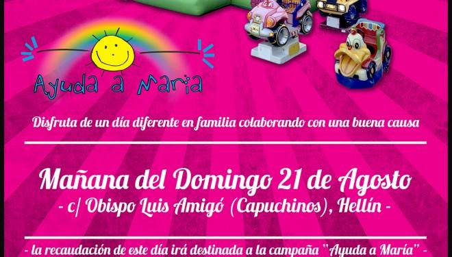 """Nueva actividad dentro de la campaña """"Ayuda a María"""" la niña que sufre Atrofia Muscular Espinal"""