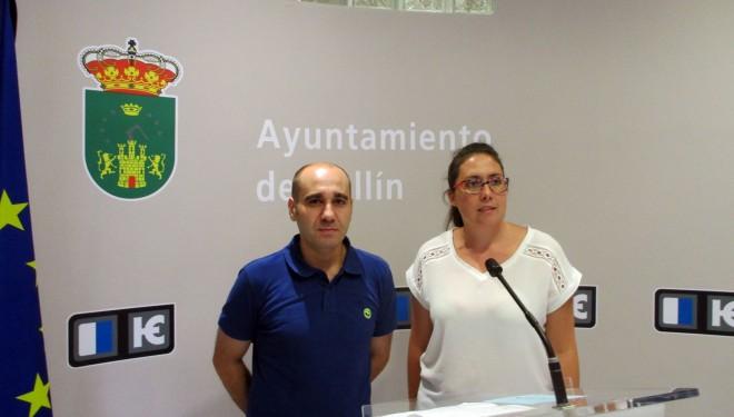 Fabiola Jiménez y David Más animan a los jóvenes a participar en la elección de Hellineros de Honor