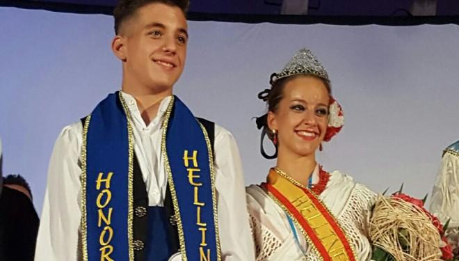 Lydia Blanco y Tino Marín Hellíneros de Honor