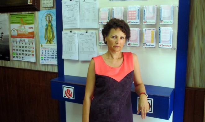 Trabajadora del punto de venta deJosé Espinosa / EFDH.