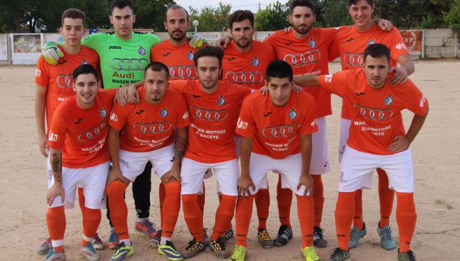 El Hellín CF empató en un amistoso jugado en Casas de Juan Núñez