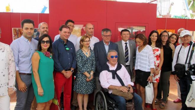 """Inaugurada en el Recinto Ferial  la exposición """"Ilunum-Hellín"""""""