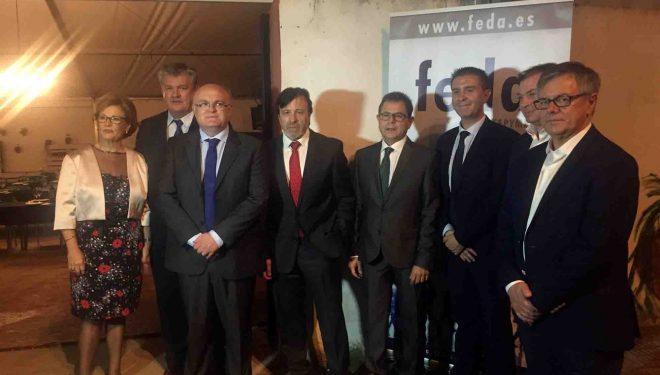 Cena organizada por FEDA en la que se conmemoró su 40 aniversario
