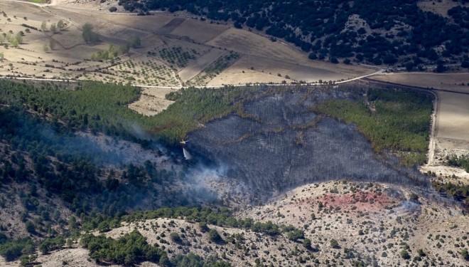 Declarado un incendio forestal en Nerpio