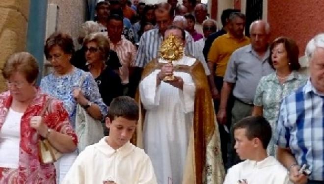 Procesión del Lignum Crucis el domingo a las 19,00 horas