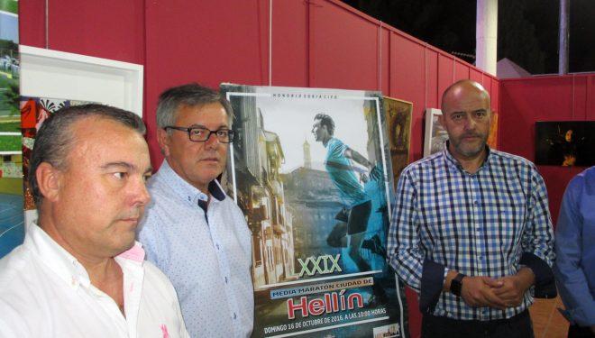 Presentados los carteles de la Carrera Solidaria y la Media Maratón