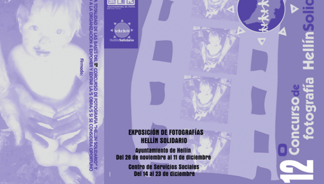 """Concurso de Fotografía """"Hellín Solidario"""""""