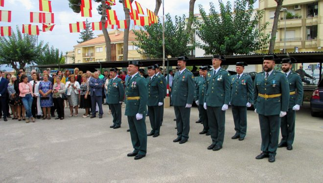 Actos en honor de la Patrona de la Guardia Civil