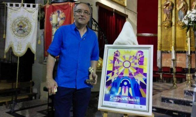Francisco Egea, autor del cartel de la Tamborada 2017