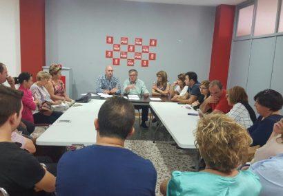 La Comisión Ejecutiva de la Agrupación  del PSOE local mantiene el no rotundo al Partido Popular