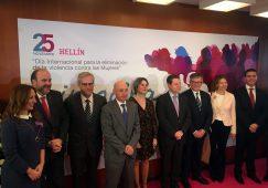 El Teatro Victoria acogía el acto del Día Internacional contra la Violencia de Género