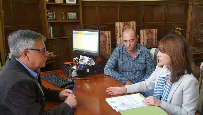 Comienzan a realizar prácticas usuarios de Asprona en la Casa Consistorial
