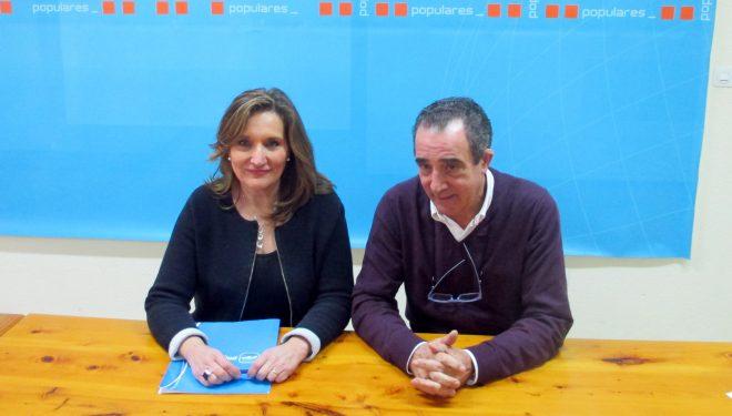 Rosario Rodríguez llegaba a Hellín para informar de la Junta Directiva Nacional del PP