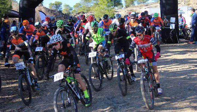 Victoria de Salvador Guardiola y Rosa Adalid en La San Silvestre de Mountain Bike