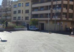 Retirada la valla del aparcamiento de la calle Sol