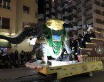 Intensa jornada de los Reyes Magos, que culminaba con una llamativa cabalgata