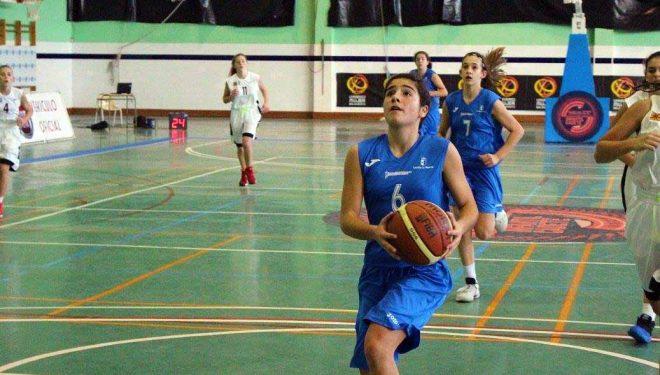Notable actuación de Lucia Navarro en el Campeonato de España se selecciones infantiles de baloncesto