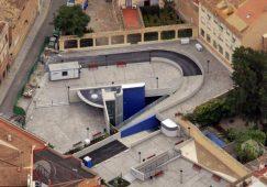 """La retirada del vallado del parking de la calle Sol, """"regalo de Reyes"""" para los hellineros"""