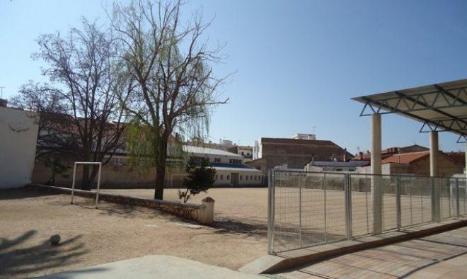 Colegio Compañía de María, patio.