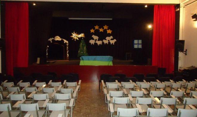 Colegio Compañía de María, salón de actos.