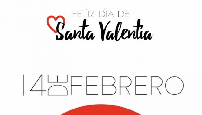 ¡Feliz día de Santa Valentía!