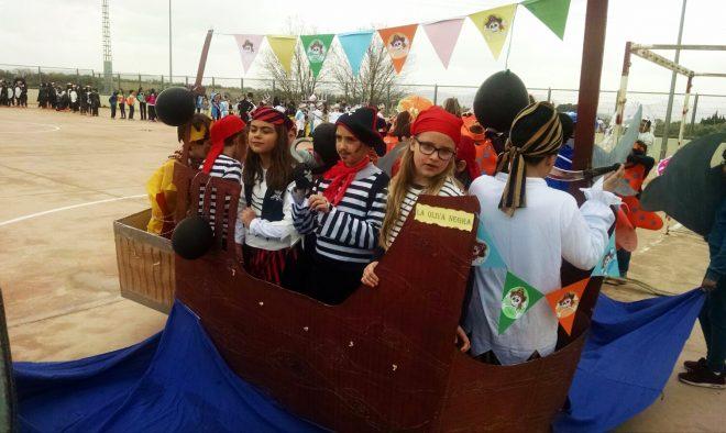 Festividad del Carnaval en el CEIP La Olivarera