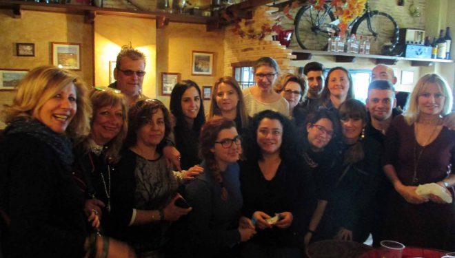 """Buen ambiente en la """"Comida Solidaria"""""""
